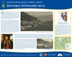 3. Historie štěpánské huti