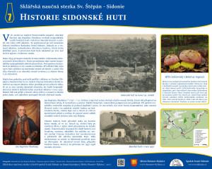 7. Historie sidonské huti